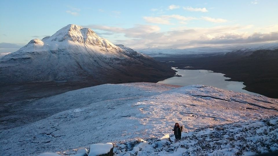 A winter walk up Stac Pollaidh (aka Stack Polly)
