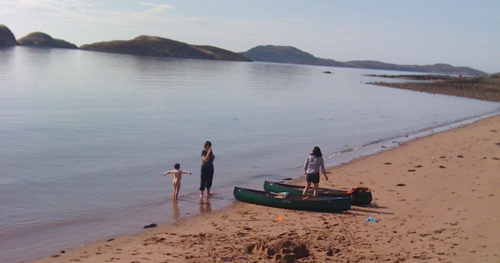 Summer Isles Croft Achiltibuie activities - beach fun