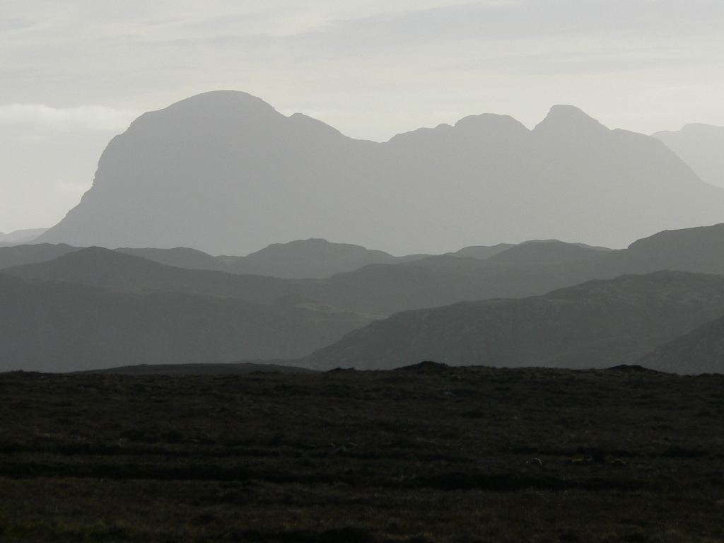 Suilven, from the Coigach road